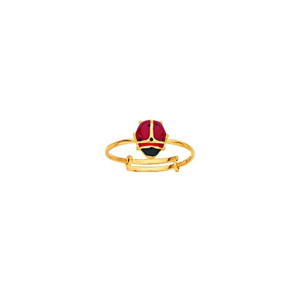 Bague ajustable Or 750/1000e 0.75grs