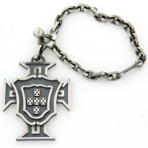 Porte clés argent Portugal