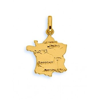 Pendentif or 750/1000e france 15mmx15mm 1.05grs