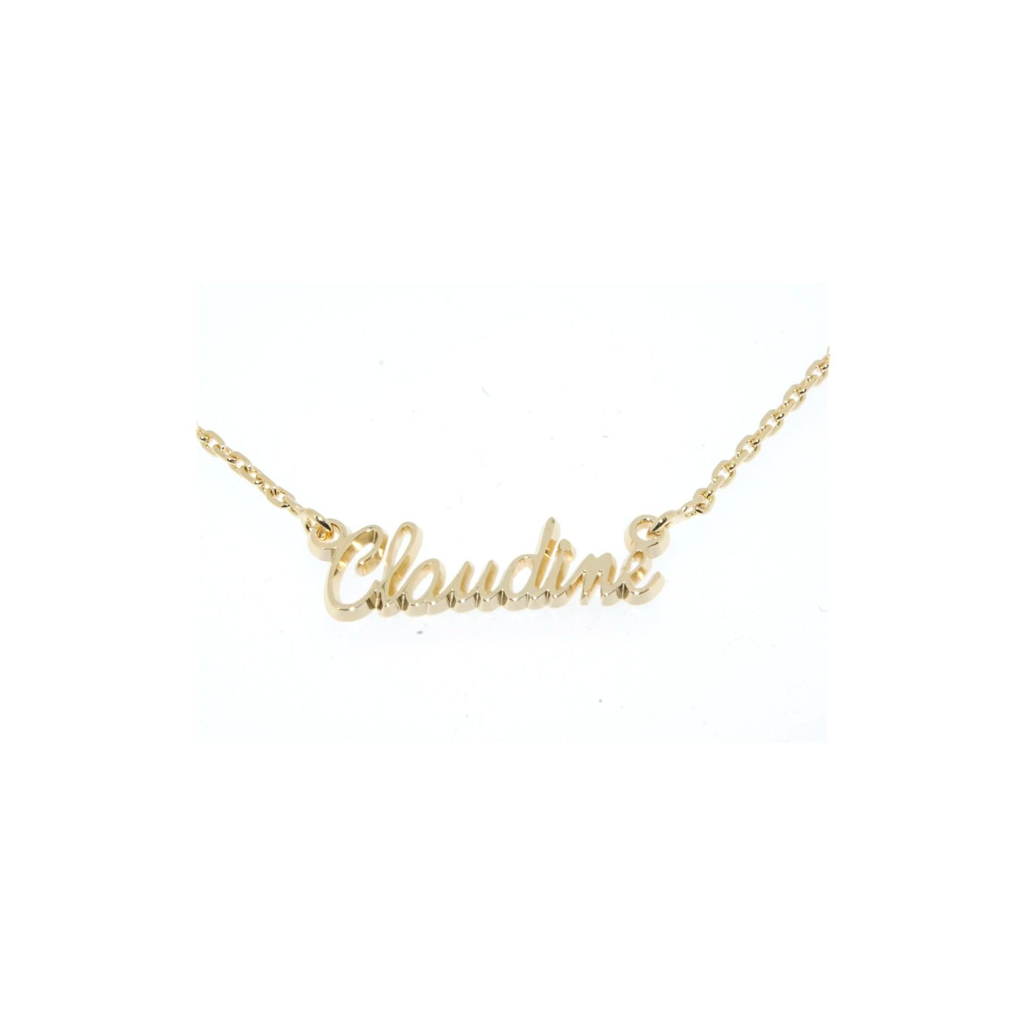 collier avec prenom pour femme