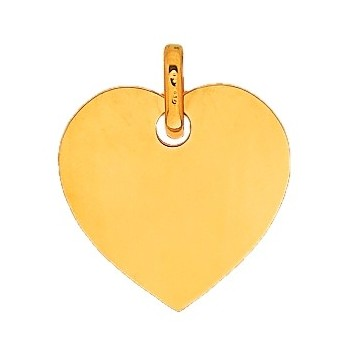 Pendentif or 750/1000e coeur 20mmx20mm 2.20grs