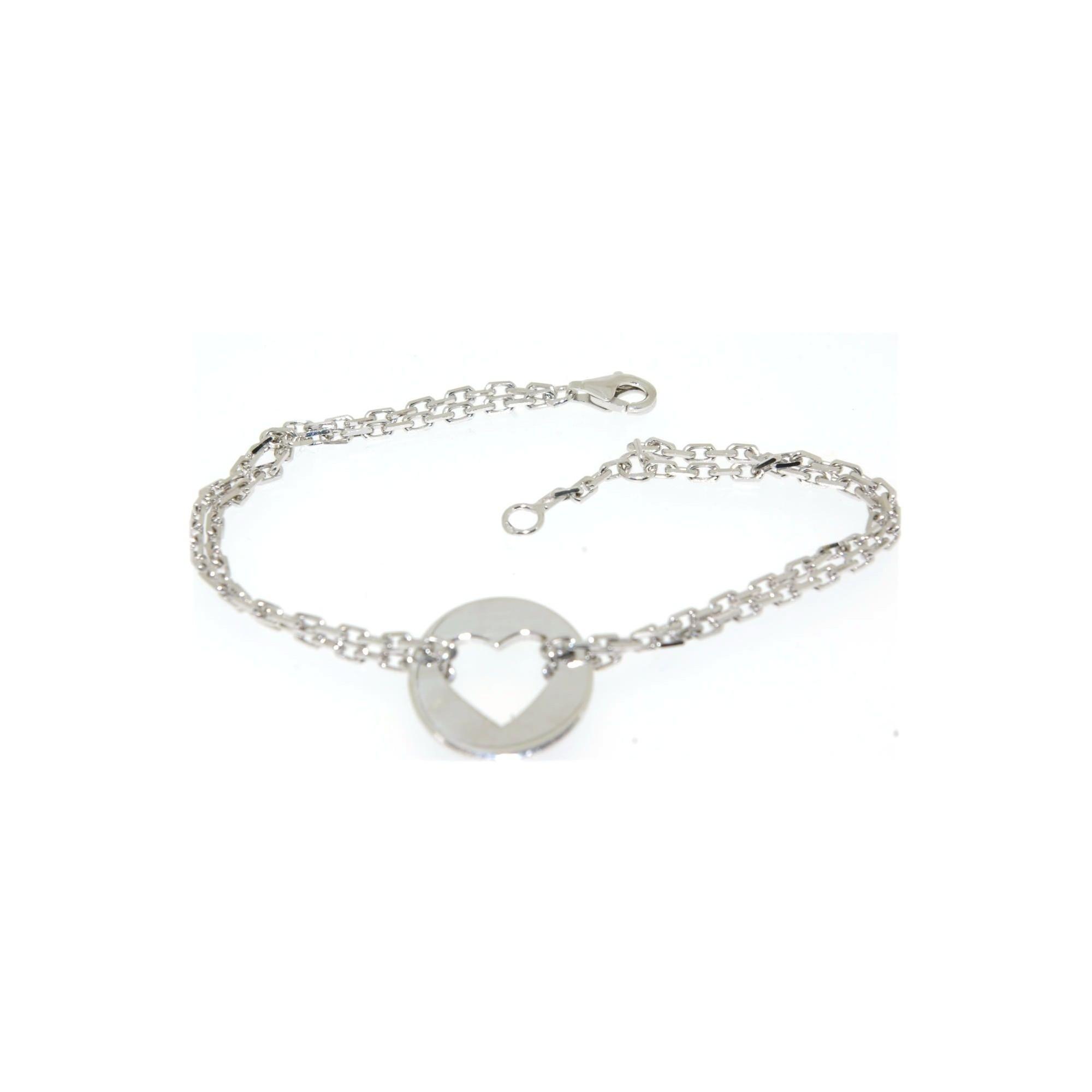 bracelet argent rhodie