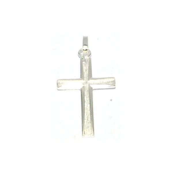 Croix argent 925/1000e  18x30mm 1.50grs