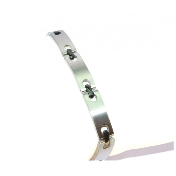 Bracelet acier 8mm 21cm