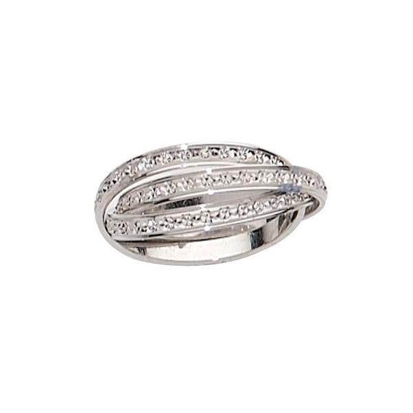 alliance 3 anneaux diamant s en or d 39 or et d 39 argent. Black Bedroom Furniture Sets. Home Design Ideas