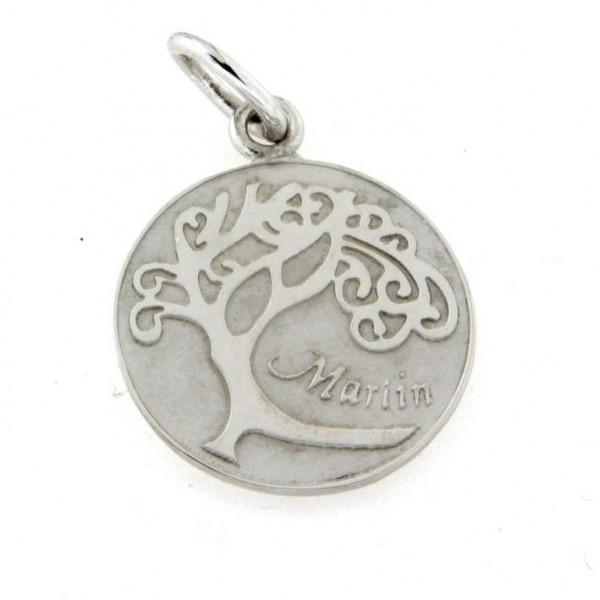 """Médaille argent """"arbre de vie"""""""