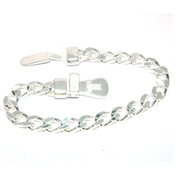 Bracelet argent 925/1000e boucle ceinture 18cm 21.50grs