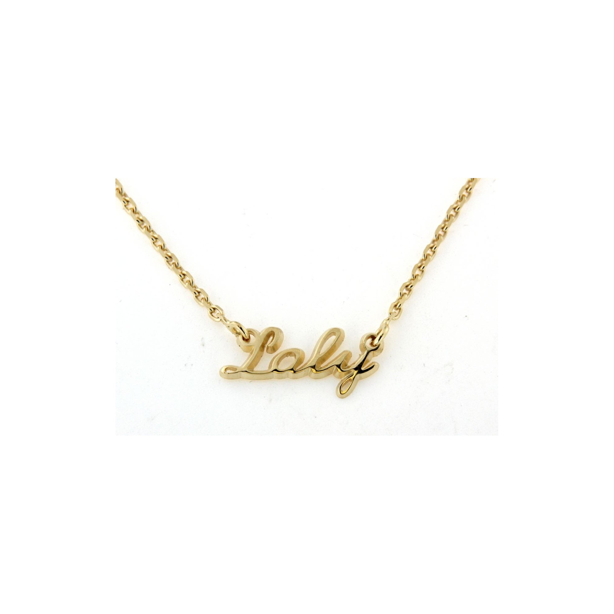 collier prenom directe