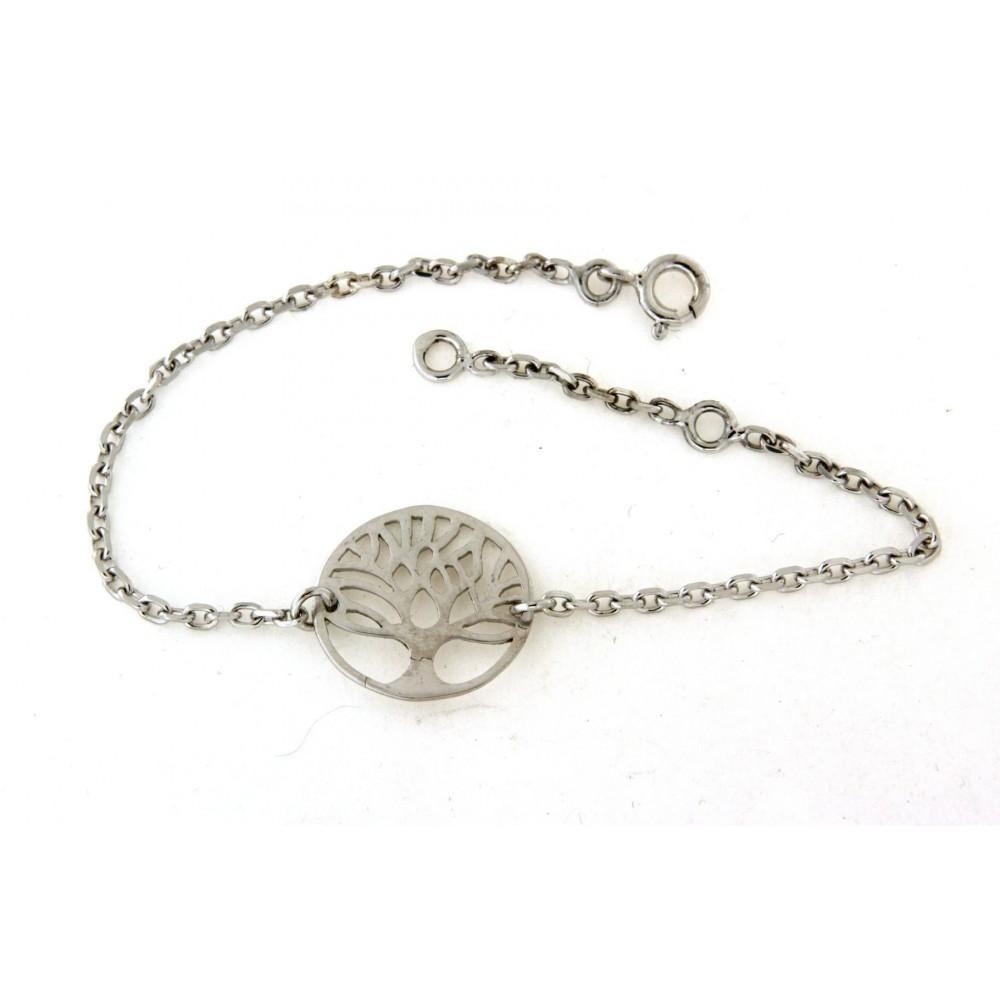 059119cb995 Bracelet arbre de vie en argent - D Or et d Argent