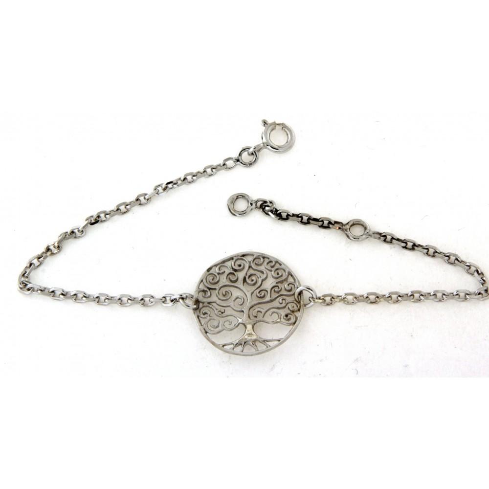 282e1d7eced Bracelet argent arbre de vie en argent - D Or et d Argent