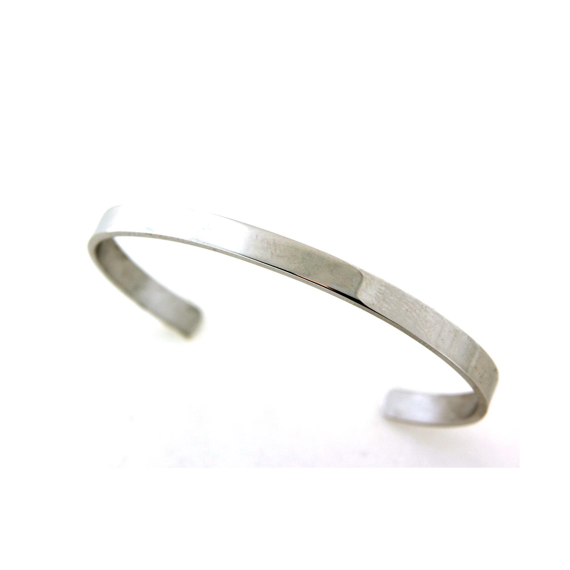 bracelet argent ouvert