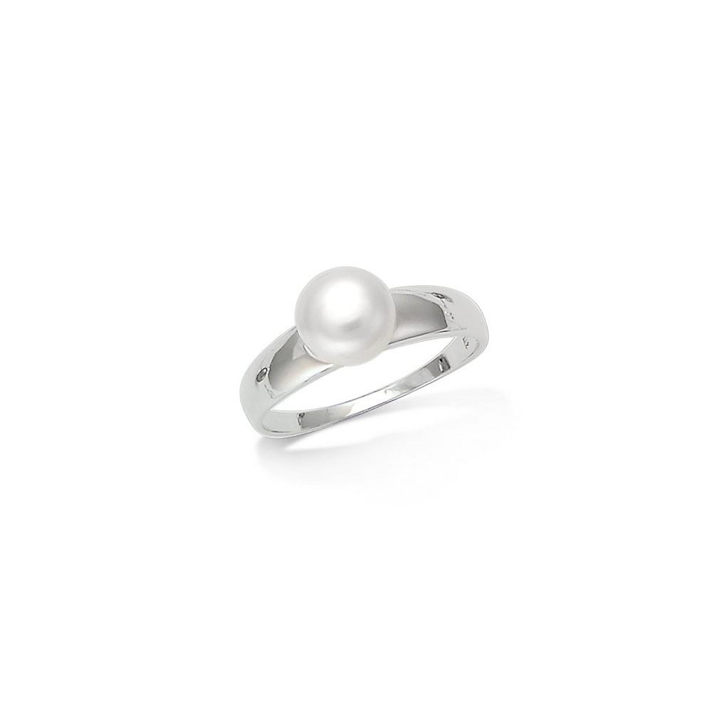 bague perle blanche nacree