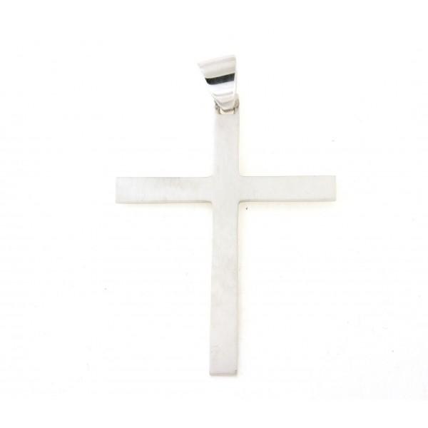 Croix argent massif 6cm