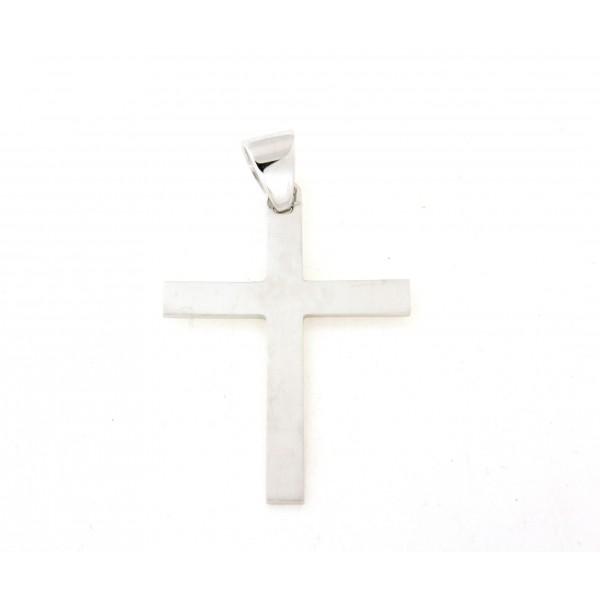 Croix argent massif 5cm