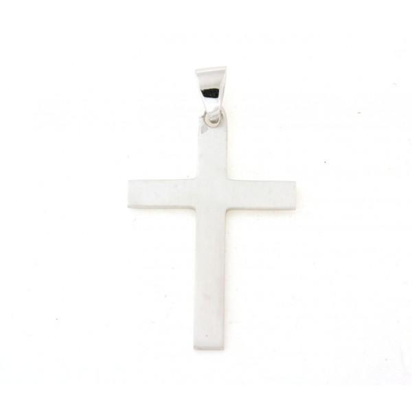 Croix argent massif 4cmm