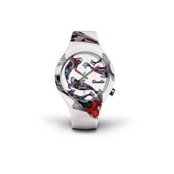 Montre Doodle oiental poisson