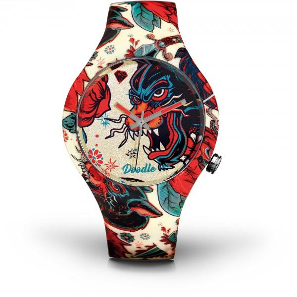 Montre Doodle tatoo dragon