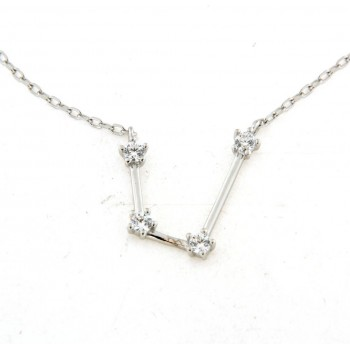 Collier constellation verseau en argent