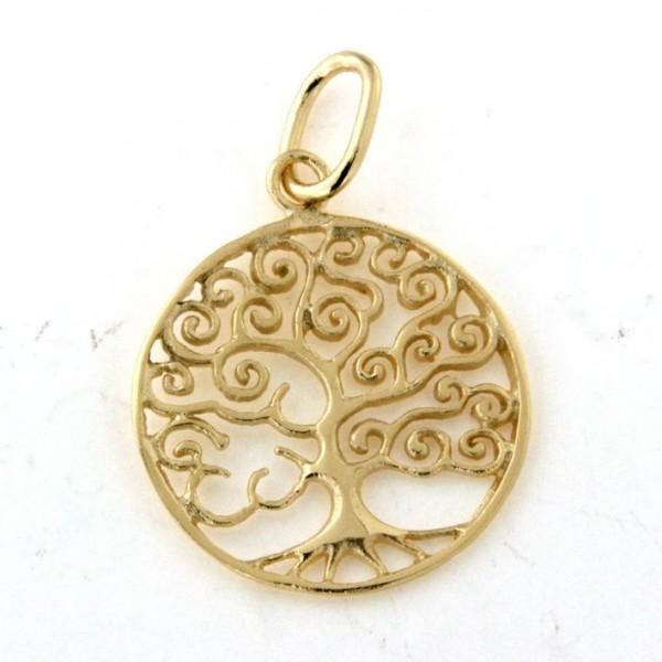 Pendentif arbre de vie en or