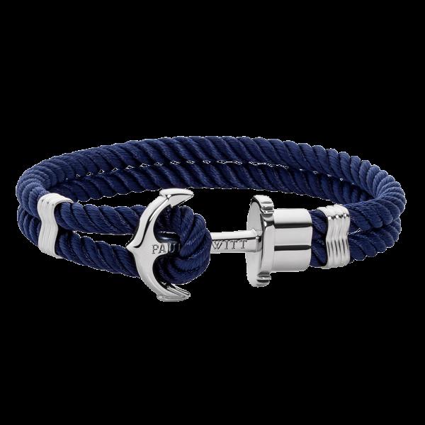 Bracelet nylon bleu Paul Hewitt