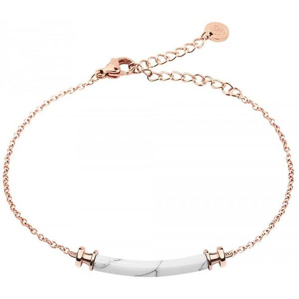 Bracelet rosé avec tube marbré Paul Hewitt