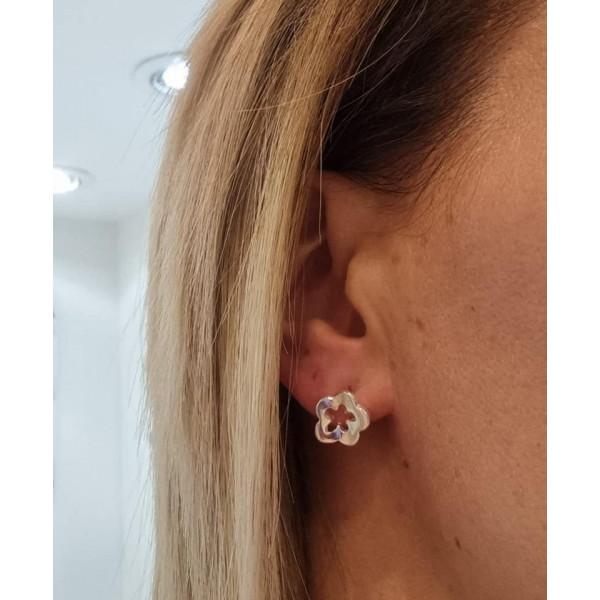OFFRE DE PRINTEMPS boucles d'oreilles argent